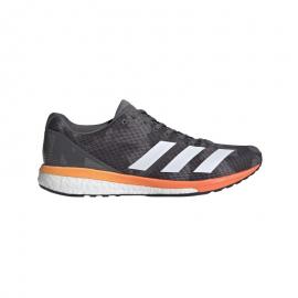 Zapatillas running adidas Adizero Boston 8 gris hombre