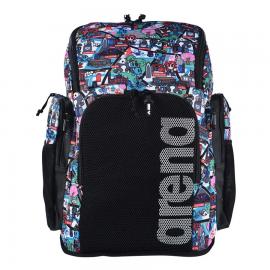 Mochila Arena Team Backpack Allover 45L Kun  multicolor