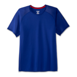 Camiseta running Brooks Stealth royal hombre