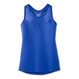 Camiseta running Brooks Stealth Tank azul mujer