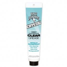 Transparente. Sin Olor. No mancha. No es toximo. 100% resistente agua. Sistema espesante a base de aluminio hace que Crystal Gr