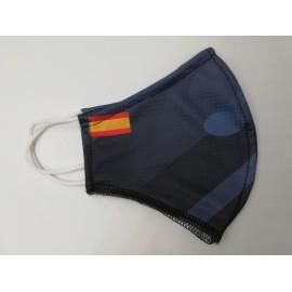Mascarilla deportiva MSP01 España azul