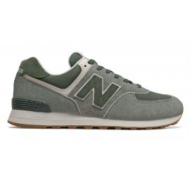Zapatillas New Balance ML574SPC gris/verde hombre