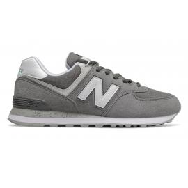 Zapatillas New Balance ML574SPW gris/blanco hombre