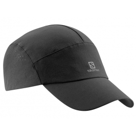Gorra trail running Salomon Cap Softshell negro