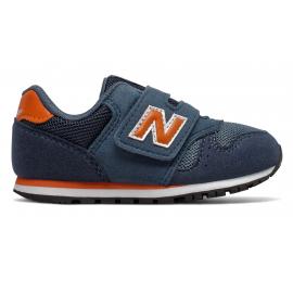 Zapatillas New Balance IV373KN marino/naranja bebé