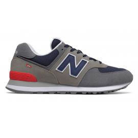 Zapatillas New Balance ML574EAD gris/azul hombre