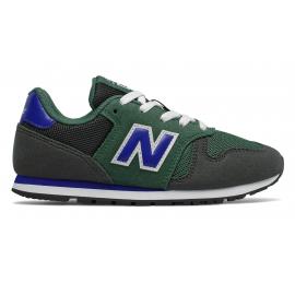 Zapatillas New Balance YC373KE verde/royal niño