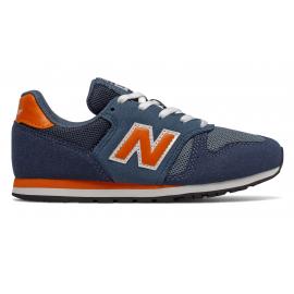 Zapatillas New Balance YC373KN marino/naranja niño