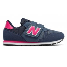 Zapatillas New Balance YV373AB marino/rosa niña