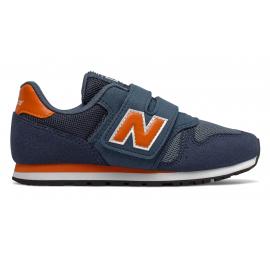 Zapatillas New Balance YV373KN marino/naranja niño