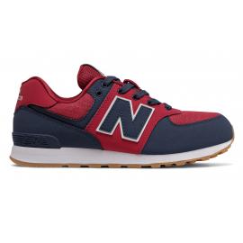 Zapatillas New Balance GC574DMI rojo/azul junior