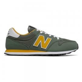 Zapatillas New Balance GM500TRU verde/amarillo hombre