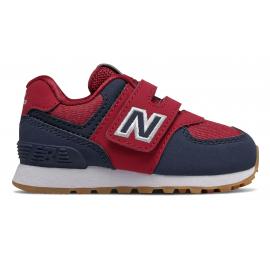 Zapatillas New Balance IV574DMI rojo/azul bebé