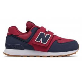 Zapatillas New Balance YV574DMI rojo/azul niño