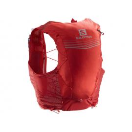 Mochila trailrunning Salomon Adv Skin 12 Set rojo