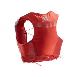 Mochila trail running Salomon Adv Skin 5 Set rojo