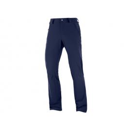 Pantalón outdoor Salomon Wayfarer Straight Lt azul hombre