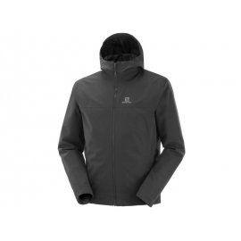 Chaqueta outdoor Salomon Explore Wp 2L negro hombre