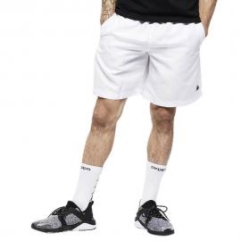 Pantalón corto Kappa Diamond blanco/negro hombre