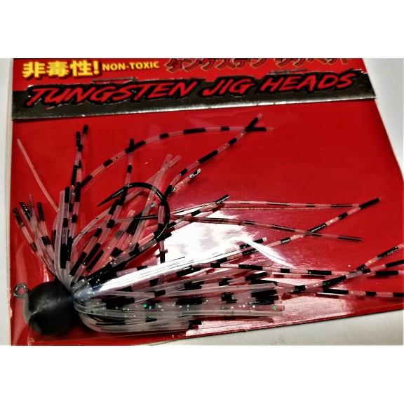 Tungsten Jig Heads 1,8gr /2,5gr. W.Red/W.Blue/Shad
