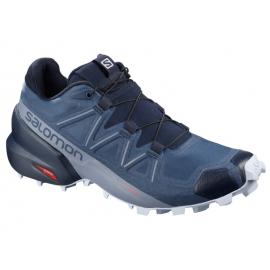 Zapatillas trailrunning Salomon SpeedCross 5 Wide azul mujer