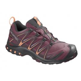Zapatillas trail running Salomon Xa Pro 3D GTX morado mujer