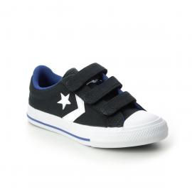 Zapatillas Converse Star Player 3v Ox negro/blanco niño