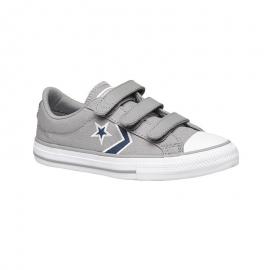 Zapatillas Converse Star Player 3v Ox gris/azul niño