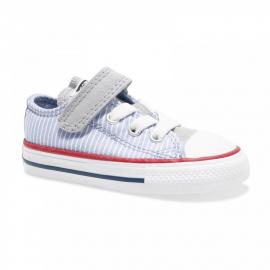 Zapatillas Converse All Star 1v Ox gris/blanco bebé