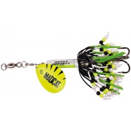 Madcat Rattlin teaser Spinner 90gr. Fluo Yellow