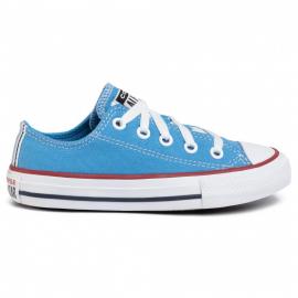 Zapatillas Converse All Star Ox azul claro niño