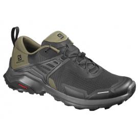 Zapatillas trekking Salomon X Raise negro/verde hombre