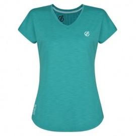 Camiseta fitness Vigilant Dare 2b verde mujer