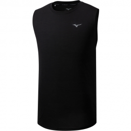 Camiseta running Mizuno Impulse Core Sleeveless negro hombre
