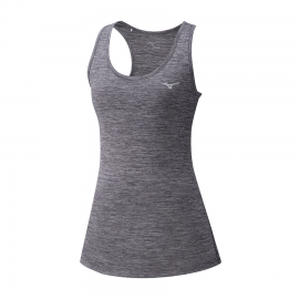 Camiseta running Mizuno Impulse Core Tank gris mujer