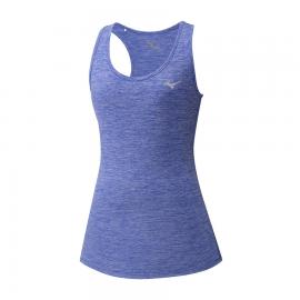 Camiseta Tirantes Running Mizuno Impulse Azul Mujer
