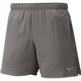 """Pantalón Corto Running Mizuno Core 5.5"""" gris hombre"""