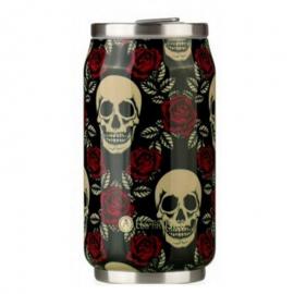 Botella Les Artistes Pull Can`t 280ml rosas/calaveras