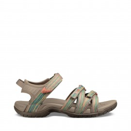 Sandalias trekking Teva Tirra marrón multicolor mujer