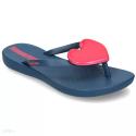 Chanclas Ipanema Maxi Fashion azul/rosa niña