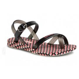 Sandalias Ipanema Fashion SD VII blanco/negro/rosa niña