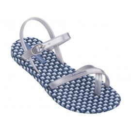 Sandalias Ipanema Fashion SD VII azul/plata niña