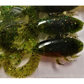 "Hog Hog Hog 3"" c.051 Watermelon Green Gold"