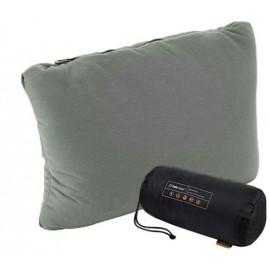 Almohada camping Deluxe Treksta gris