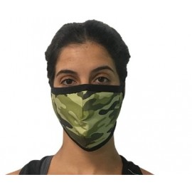 Mascarilla protectora reutilizable Eme Camuflaje unisex