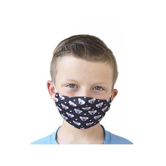 Mascarilla protectora reutilizable con filtro Osos de infant