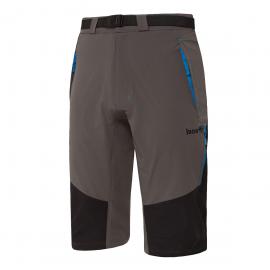 Pantalón trekking Izas Ospika gris/negro/azul hombre