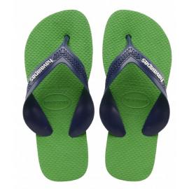 Chanclas Havaianas Max verde/azul niño