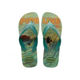 Chanclas Havaianas Surf verde/azul hombre